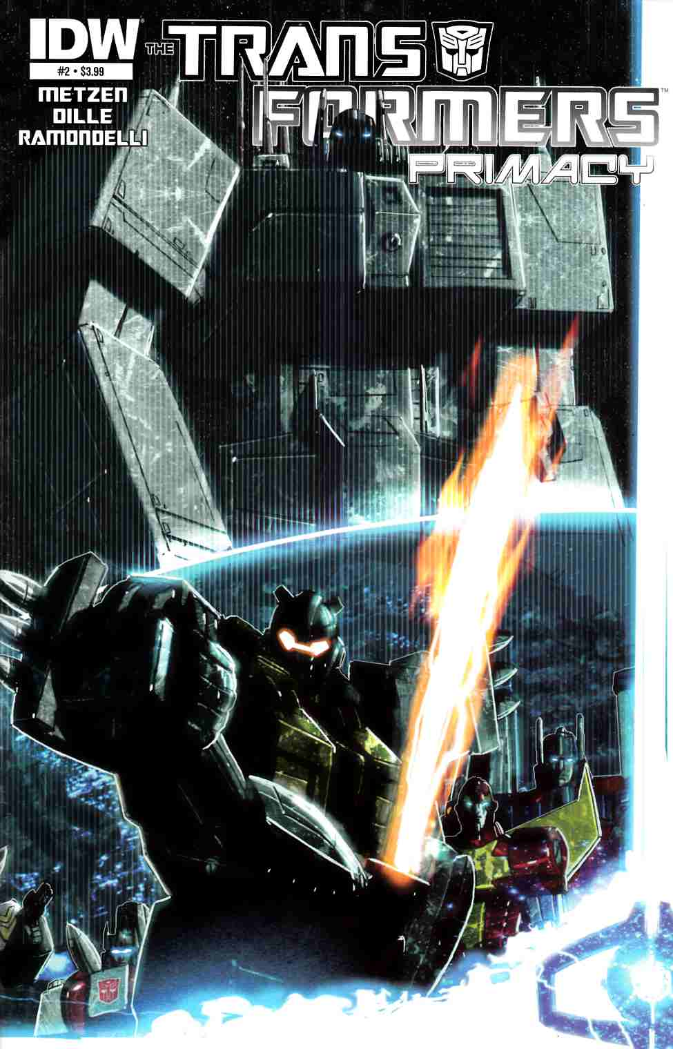 Transformers Primacy #2 [IDW Comic] THUMBNAIL