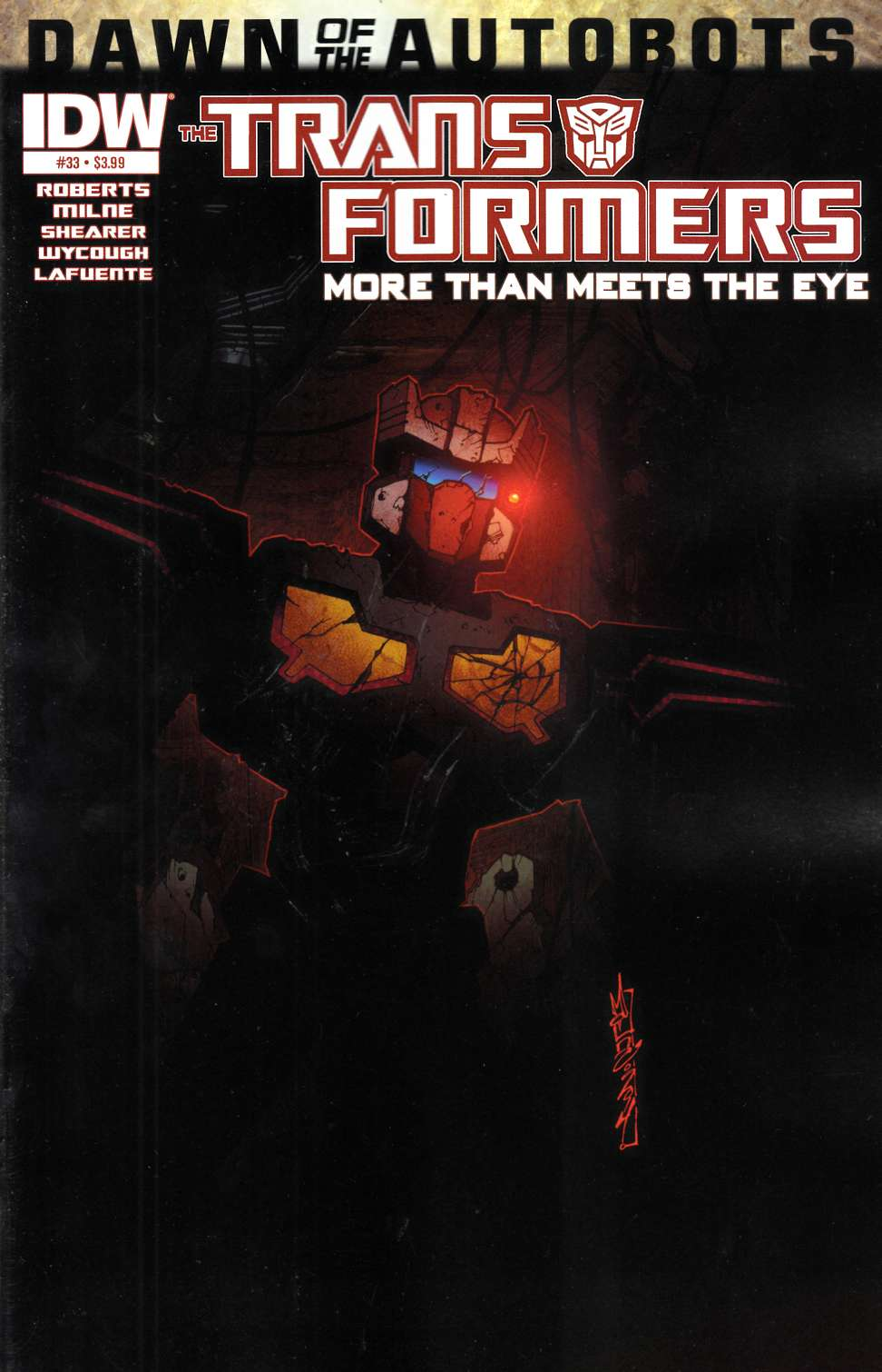 Transformers More Than Meets the Eye #33 [Comic] THUMBNAIL