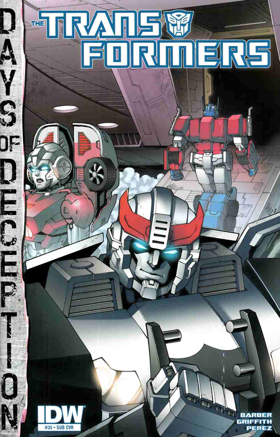 Transformers #35 Subscription Cover [IDW Comic] THUMBNAIL