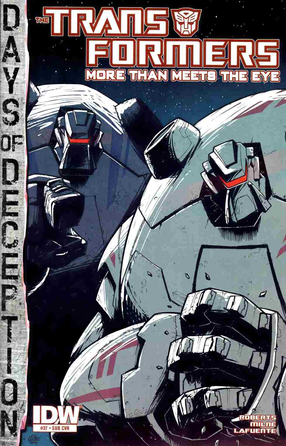 Transformers More Than Meets the Eye #37 Subscription Cover [IDW Comic] LARGE