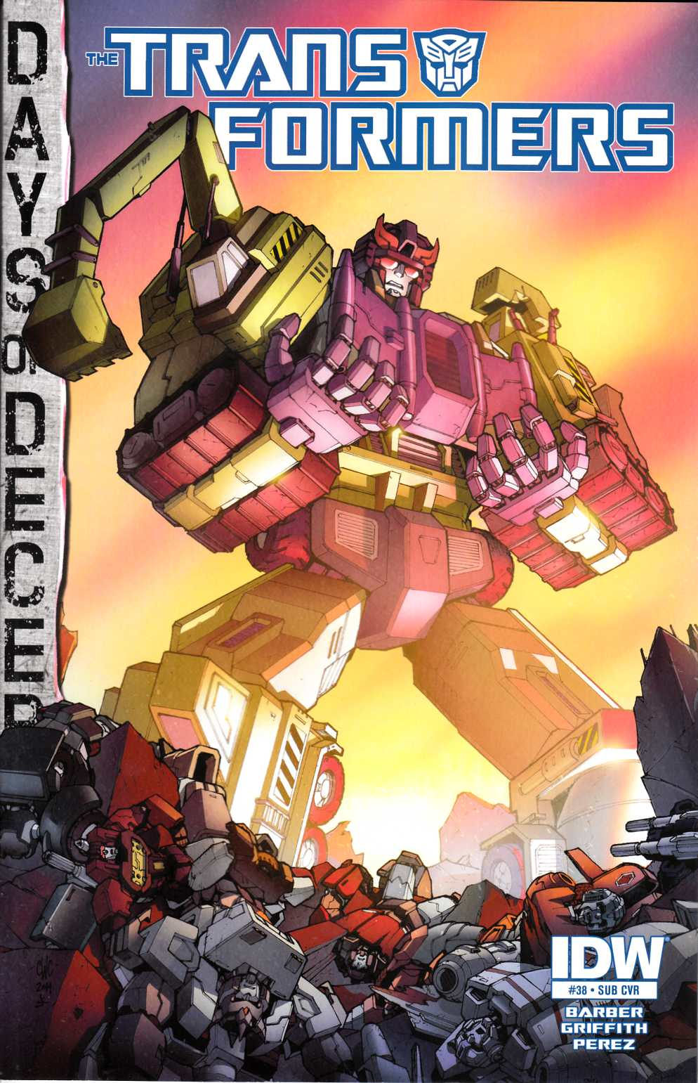 Transformers #38 Subscription Cover [IDW Comic] THUMBNAIL