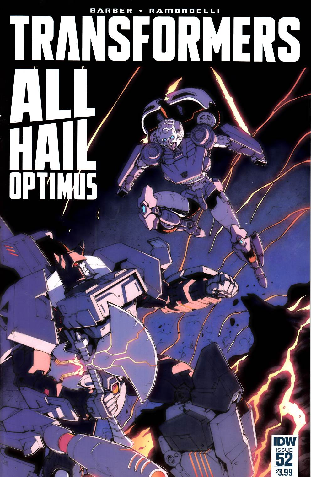 Transformers #52 [IDW Comic] THUMBNAIL