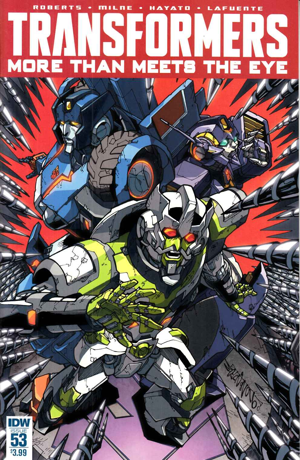 Transformers More than Meets the Eye #53 [IDW Comic] LARGE