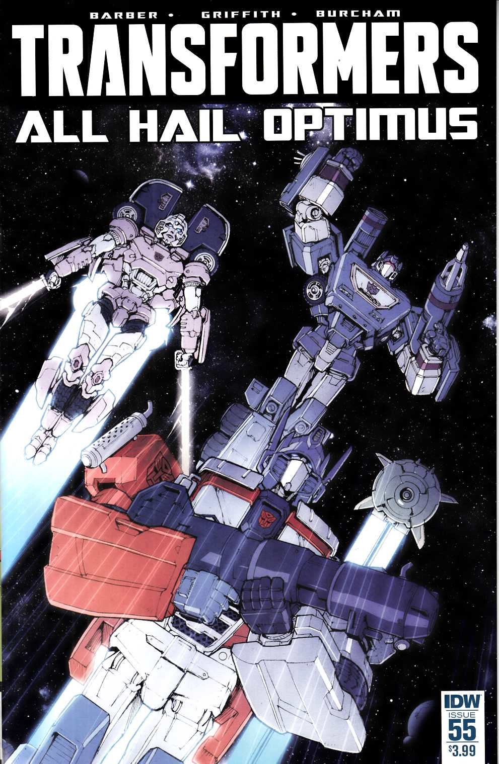 Transformers #55 [IDW Comic] THUMBNAIL