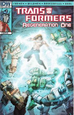 Transformers Regeneration One #83 Cover A [IDW Comic] LARGE