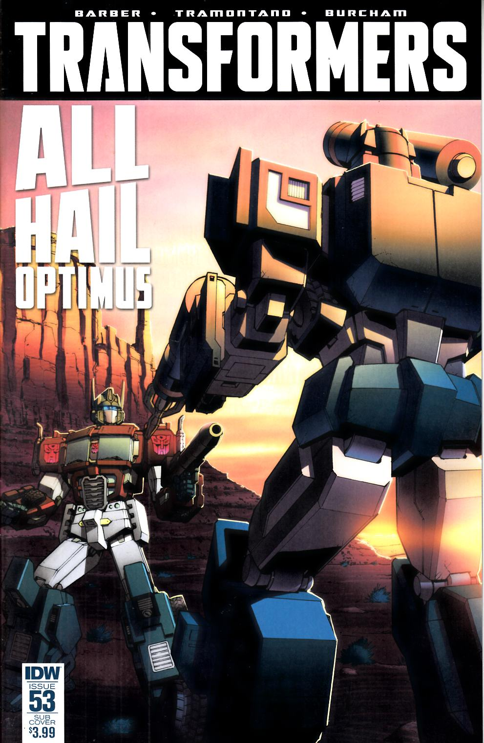 Transformers #53 Subscription Cover [IDW Comic] THUMBNAIL