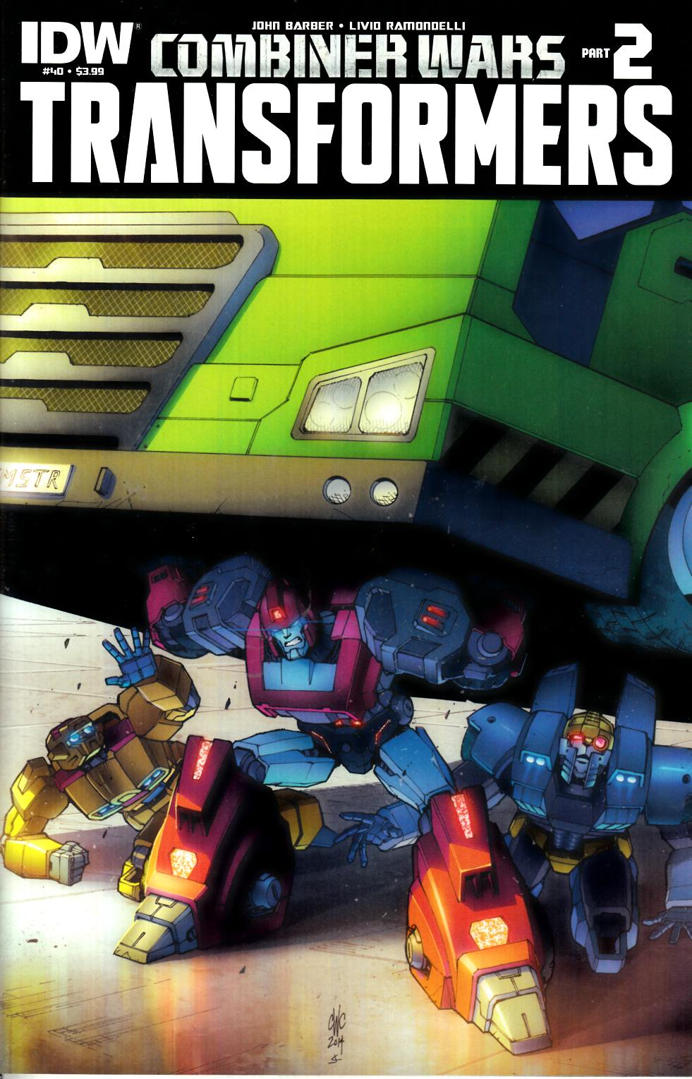 Transformers #40 [IDW Comic] THUMBNAIL