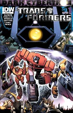 Transformers Dark Cybertron #1 [Comic] LARGE