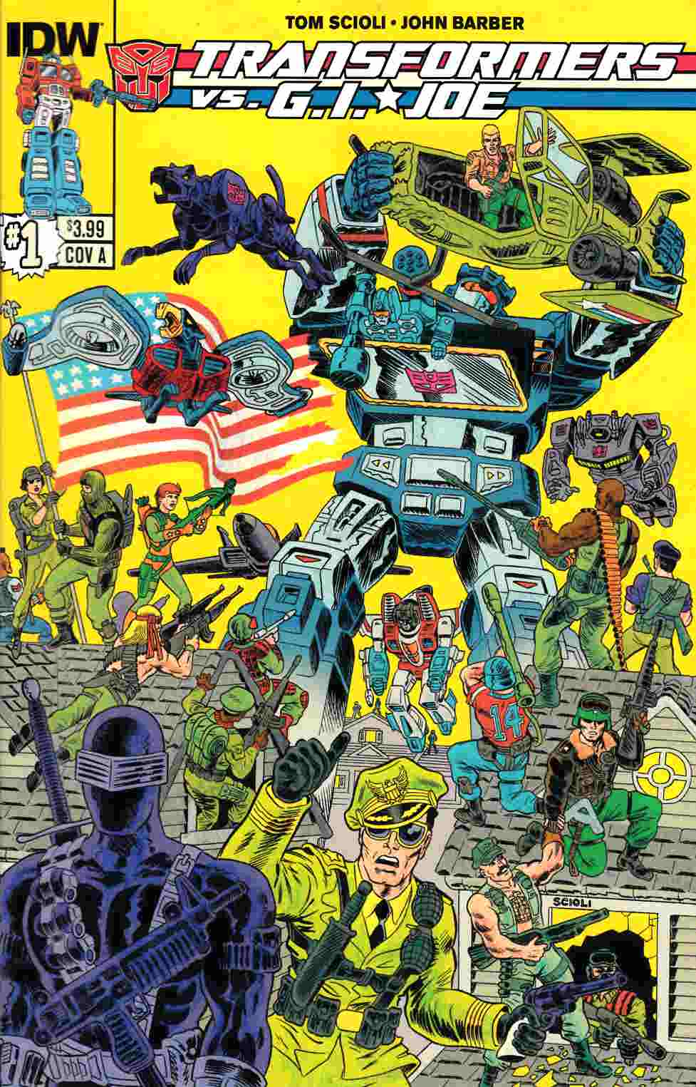 Transformers vs GI Joe #1 [Comic] THUMBNAIL