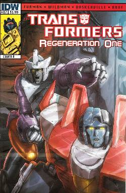 Transformers Regeneration One #87 Cover A [Comic] LARGE