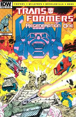 Transformers Regeneration One #88 Cover B [Comic] LARGE