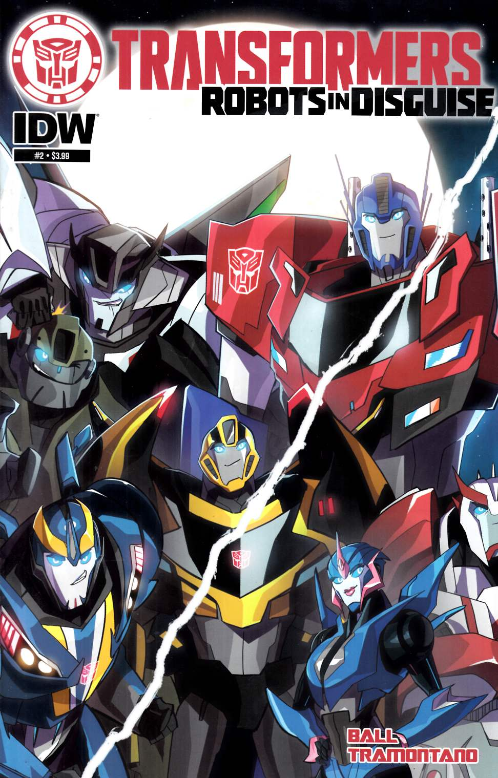 Transformers Robots in Disguise Animated #2 [IDW Comic] THUMBNAIL