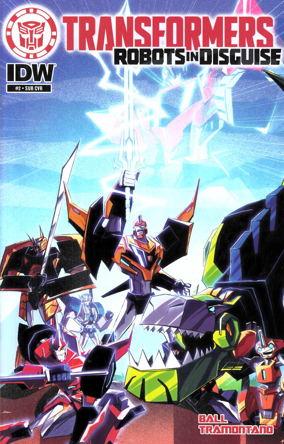 Transformers Robots in Disguise Animated #2 Subscription Cover [IDW Comic] THUMBNAIL