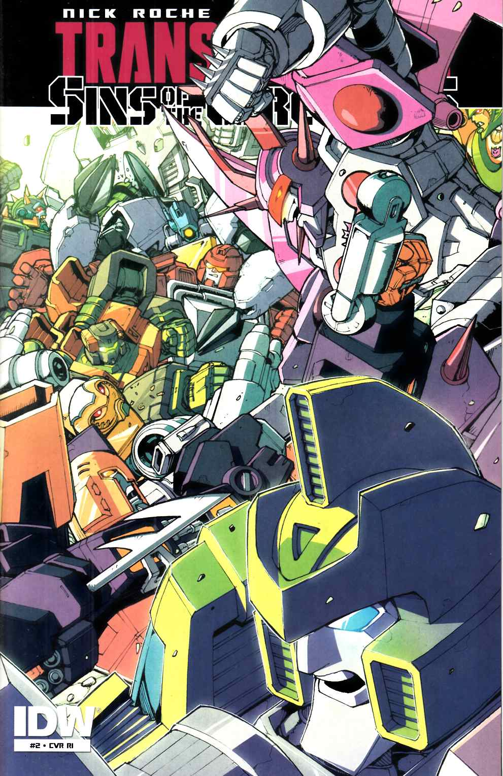 Transformers Sins of Wreckers #2 Cover RI [IDW Comic] THUMBNAIL