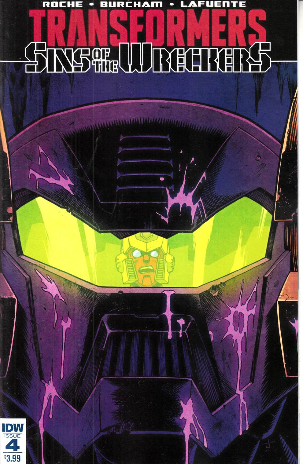 Transformers Sins of Wreckers #4 [IDW Comic] THUMBNAIL