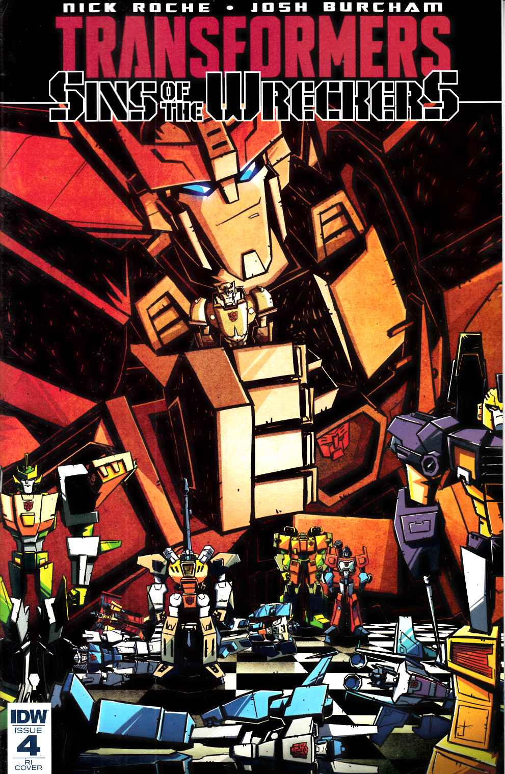 Transformers Sins of Wreckers #4 Cover RI [IDW Comic] THUMBNAIL