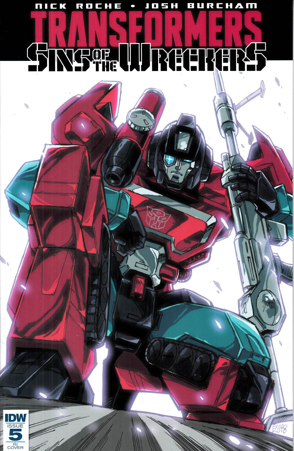 Transformers Sins of Wreckers #5 RI Cover [IDW Comic] THUMBNAIL