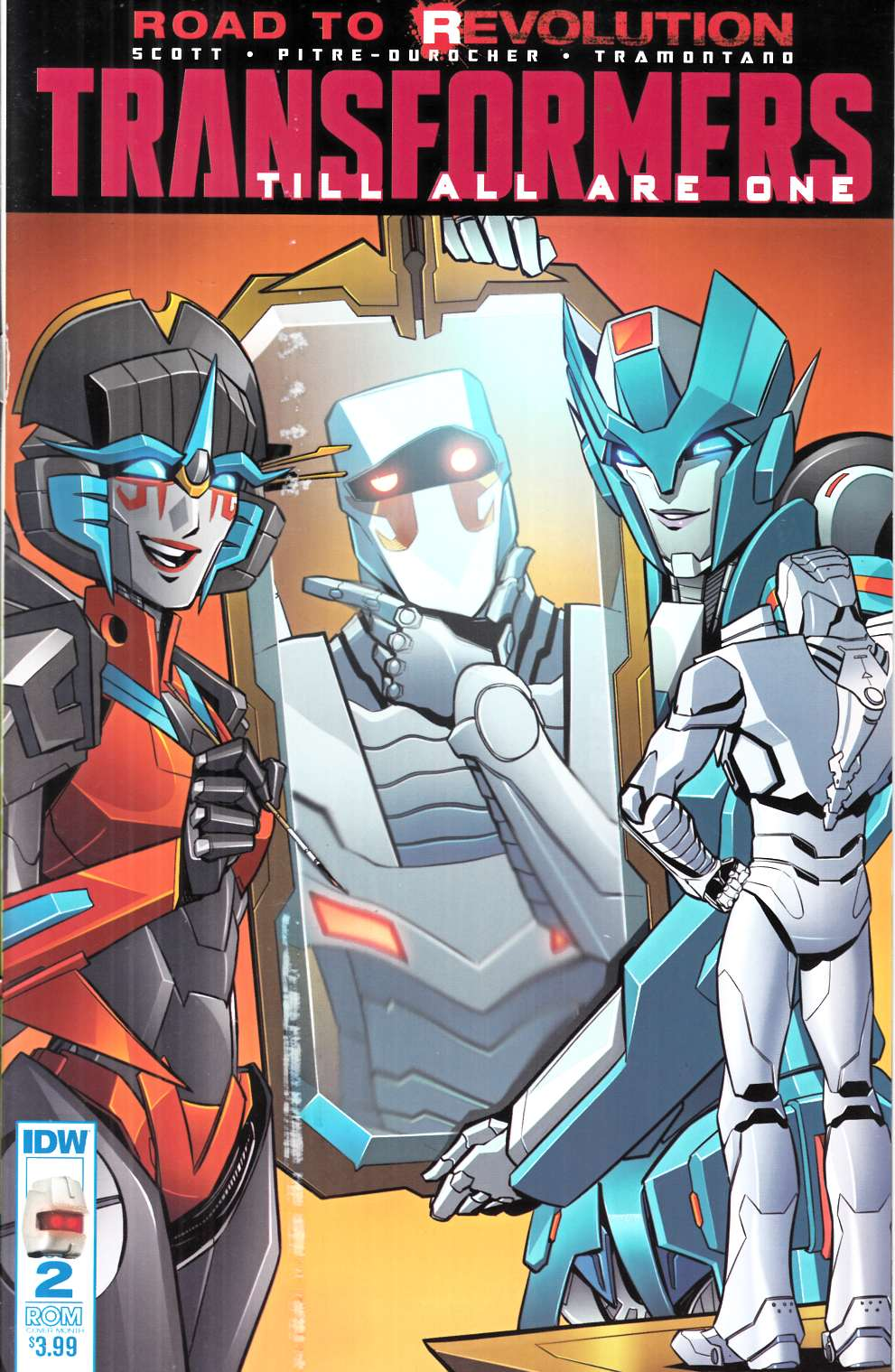 Transformers Till All Are One #2 Rom Variant Cover [IDW Comic] LARGE