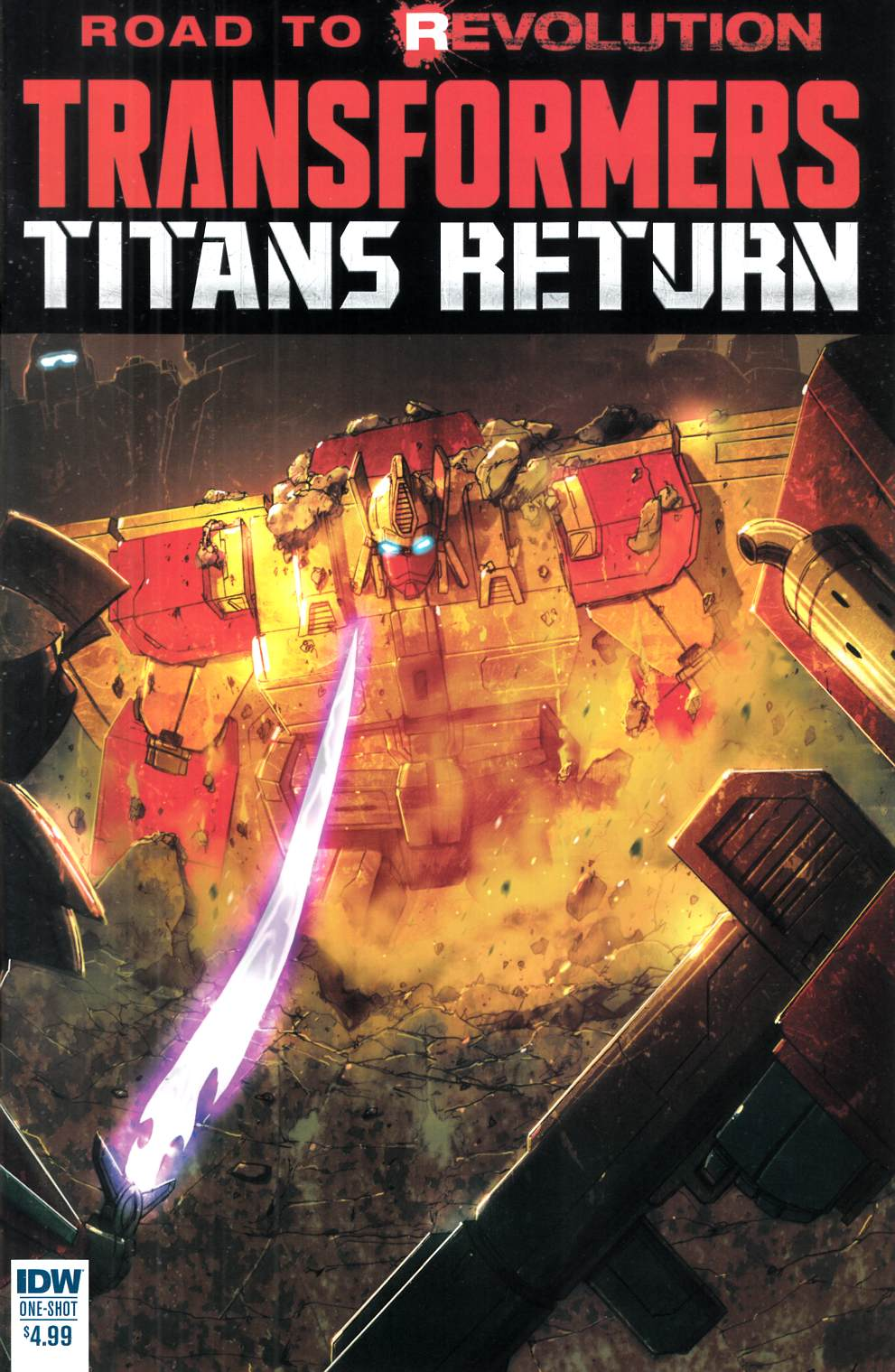 Transformers Titans Return (One Shot) [IDW Comic] LARGE