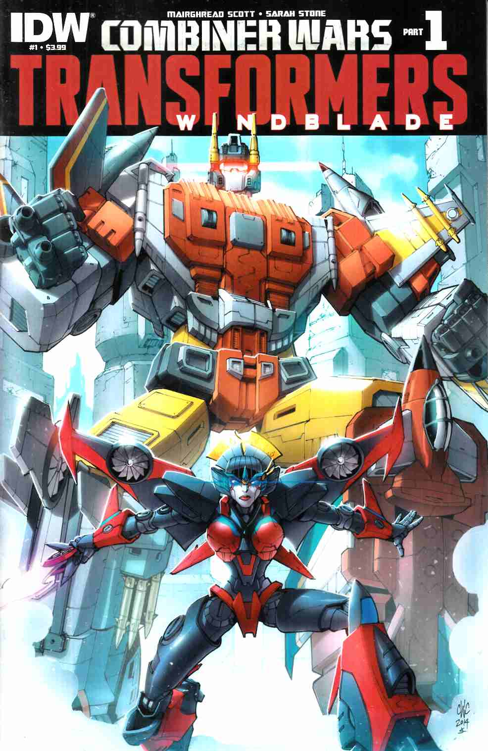 Transformers Windblade Combiner Wars #1 [IDW Comic] LARGE