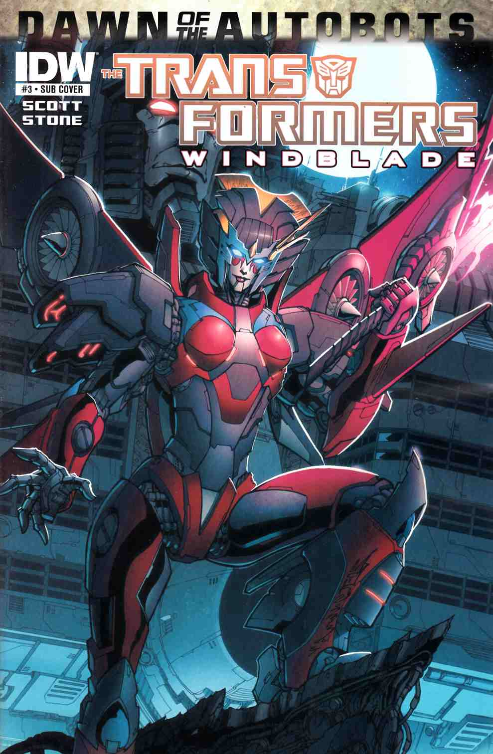Transformers Windblade #3 Subscription Cover [Comic] THUMBNAIL