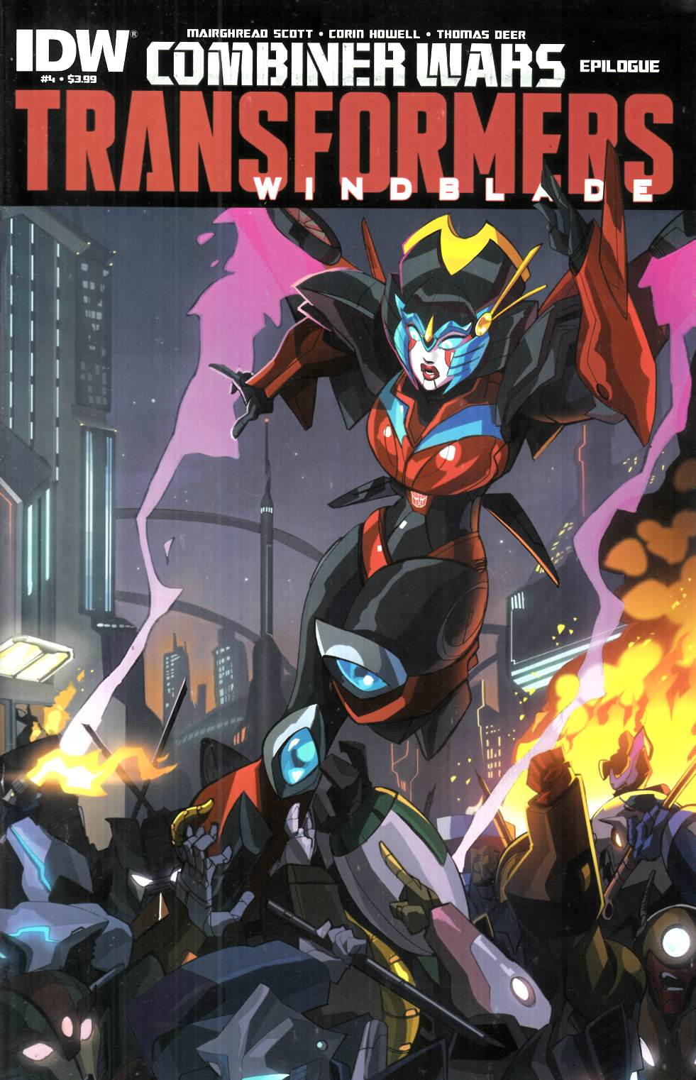 Transformers Windblade Combiner Wars #4 [IDW Comic] THUMBNAIL