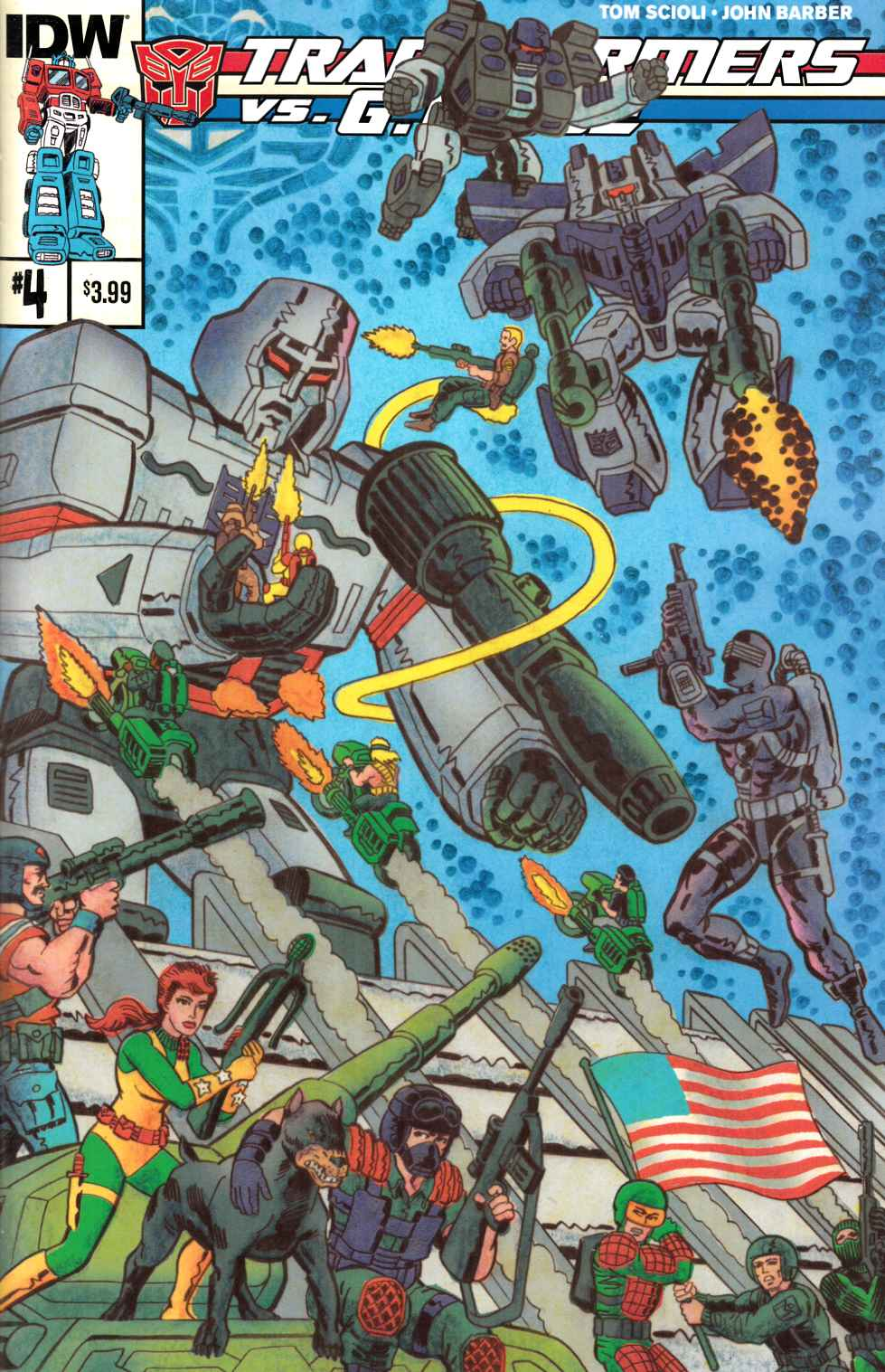 Transformers vs GI Joe #4 [IDW Comic] THUMBNAIL