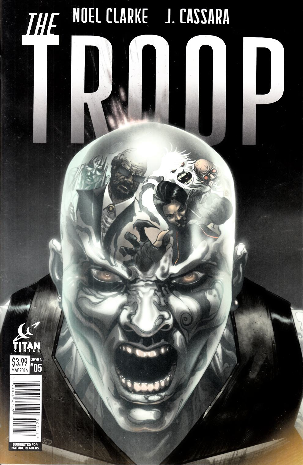 The Troop #5 Cover A [Titan Comic]