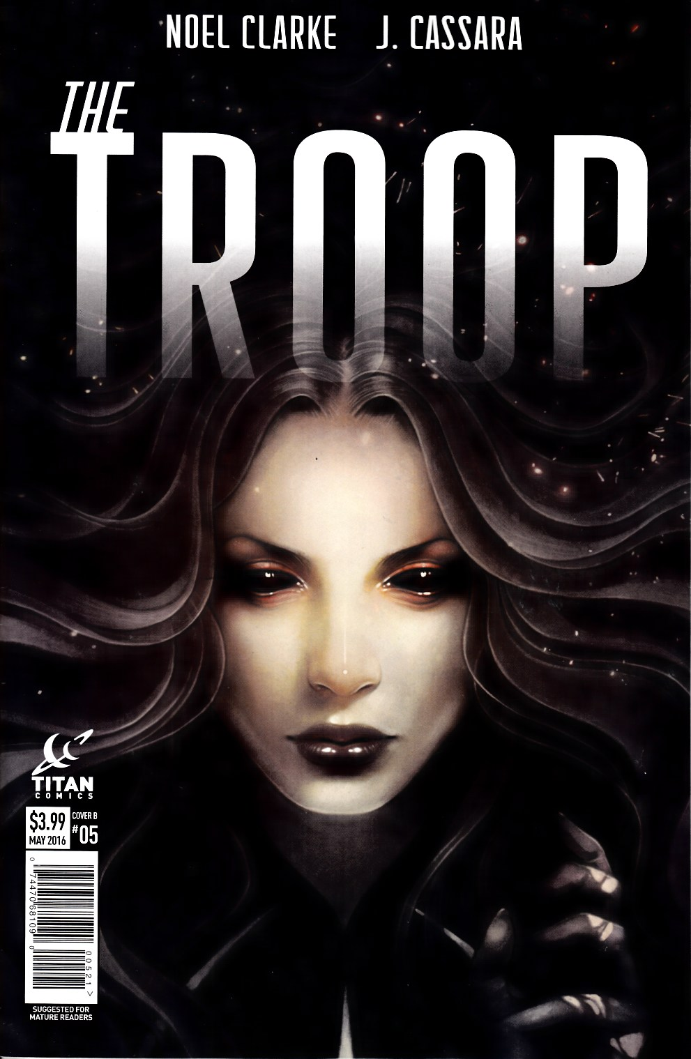 The Troop #5 Cover B [Titan Comic] THUMBNAIL