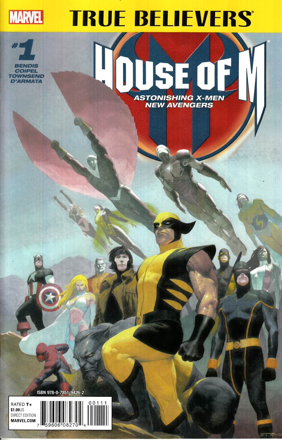 House of M #1 True Believers Edition [Marvel Comic]_THUMBNAIL
