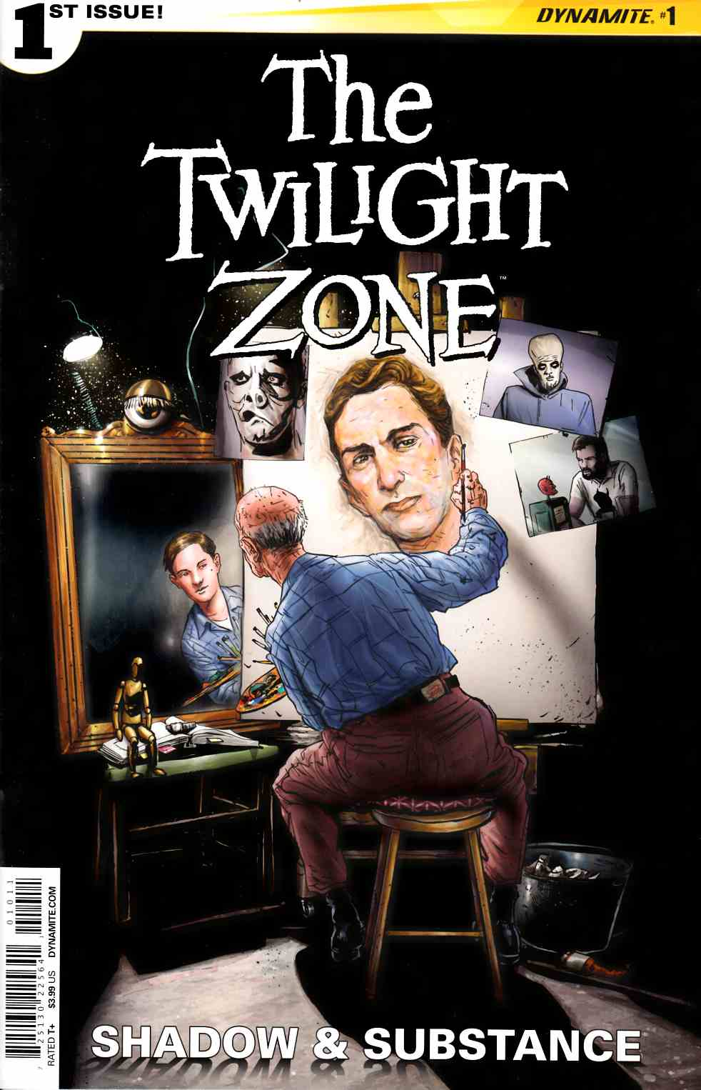 Twilight Zone S&S #1 Cover A- Vilanova [Dynamite Comic] THUMBNAIL