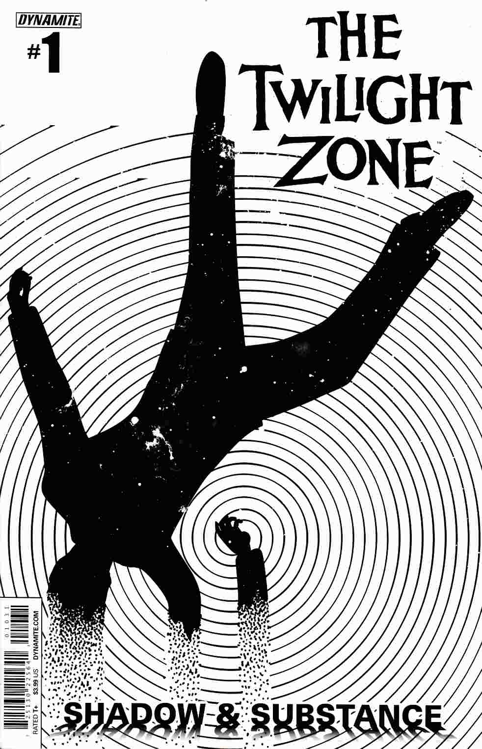 Twilight Zone S&S #1 Cover C- Shaw [Dynamite Comic] THUMBNAIL