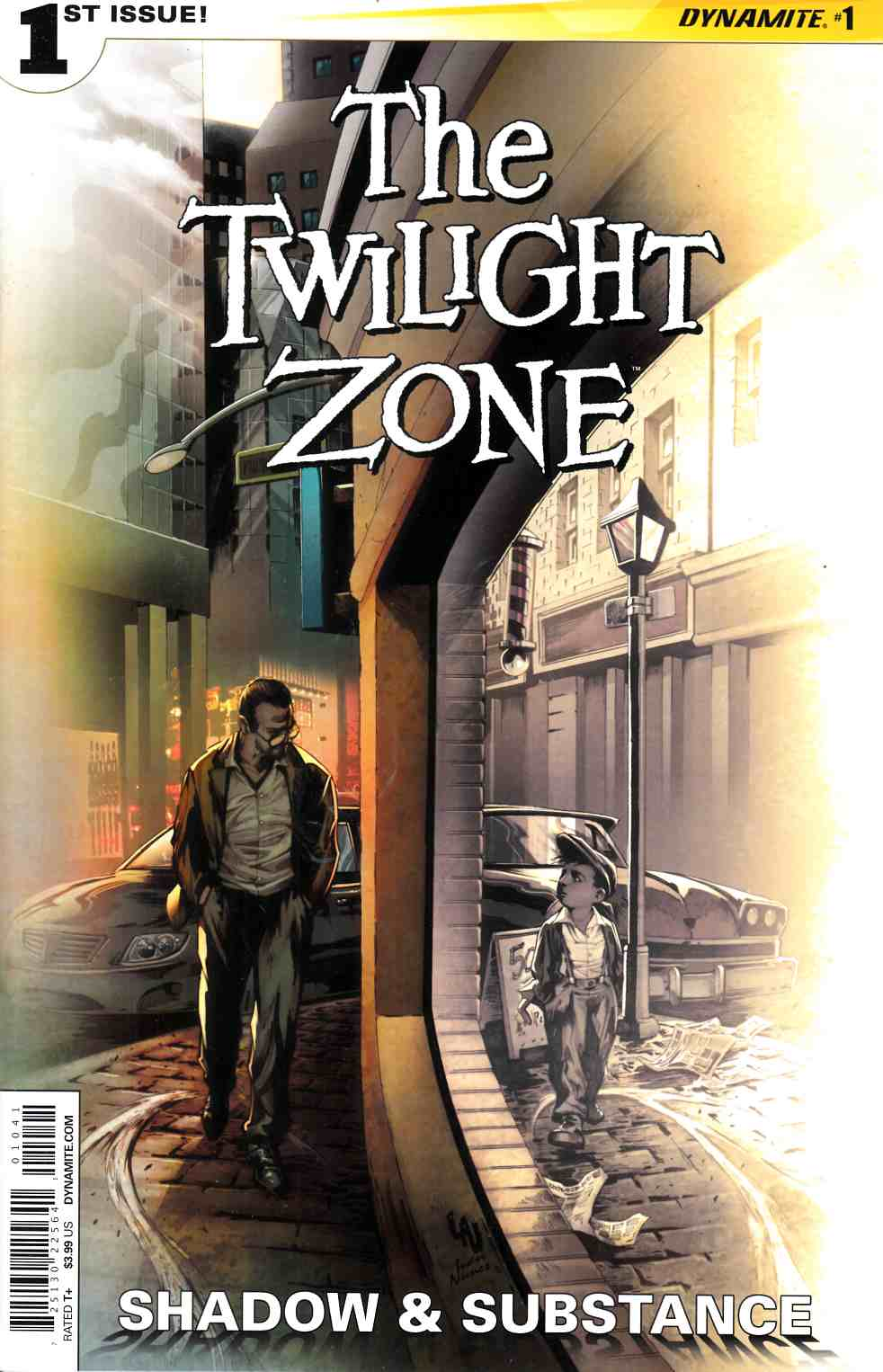 Twilight Zone S&S #1 Cover D- Lau Subscription [Dynamite Comic] THUMBNAIL