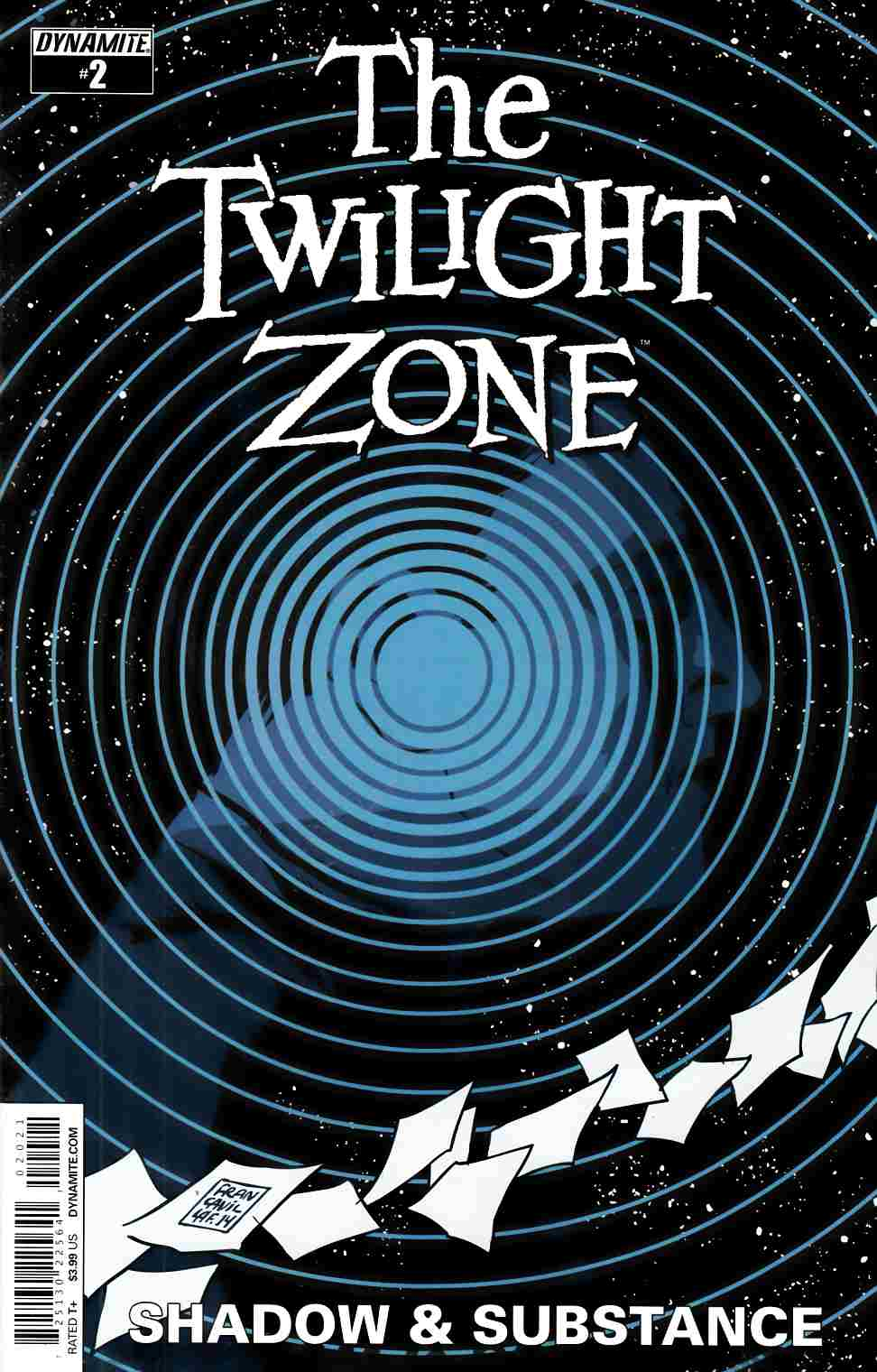 Twilight Zone S&S #2 Cover B- Francavilla [Dynamite Comic] THUMBNAIL
