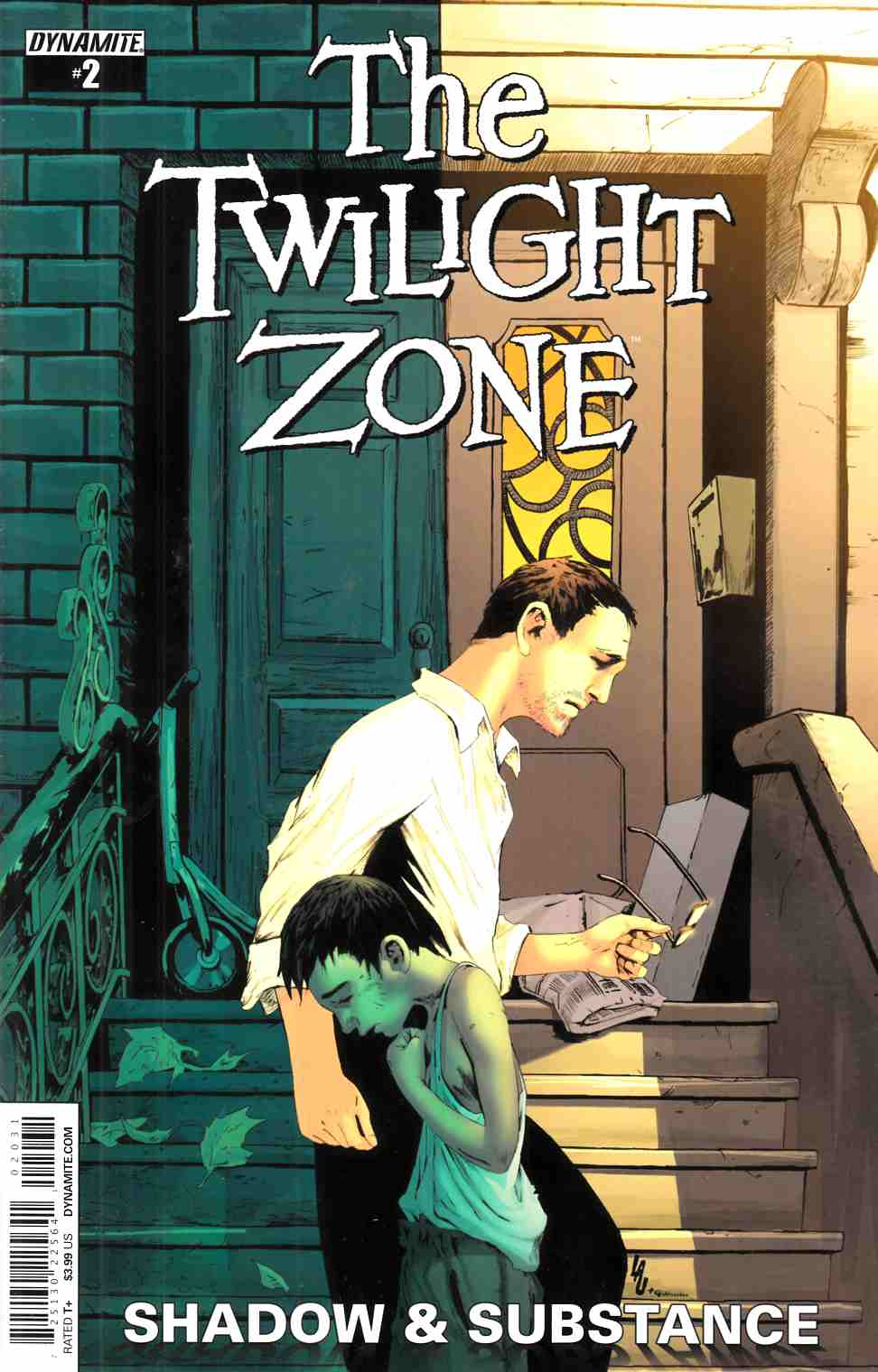 Twilight Zone S&S #2 Cover C- Lau Subscription [Dynamite Comic] THUMBNAIL