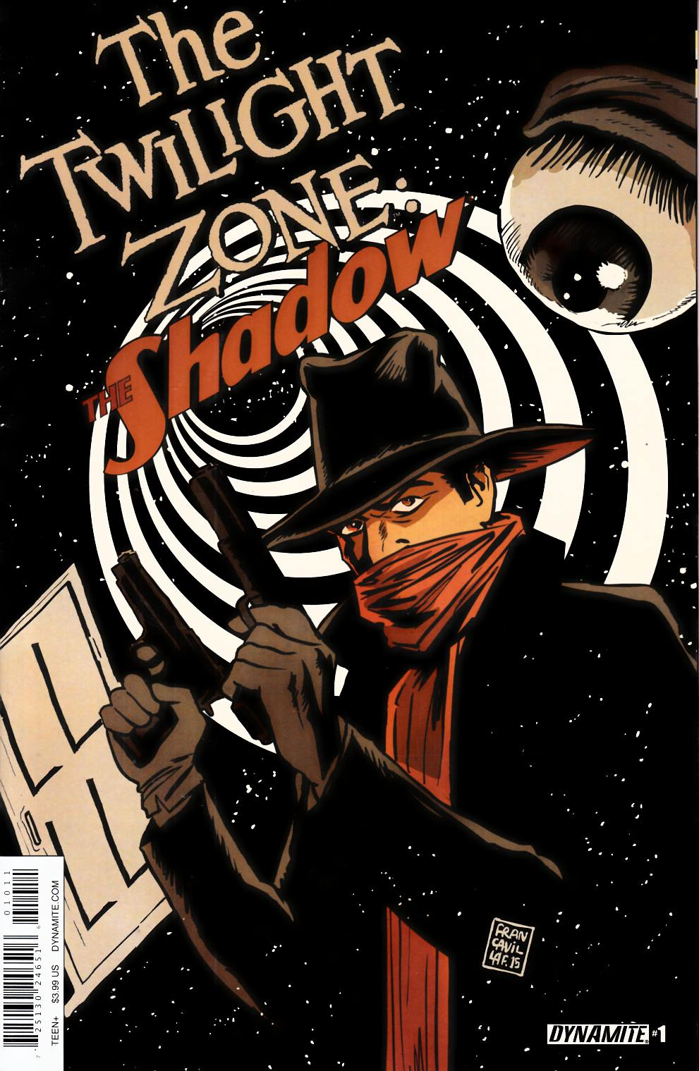 Twilight Zone Shadow #1 [Dynamite Comic]
