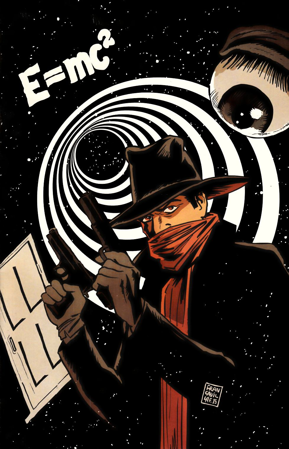Twilight Zone Shadow #1 Francavilla Virgin Incentive Cover [Dynamite Comic]