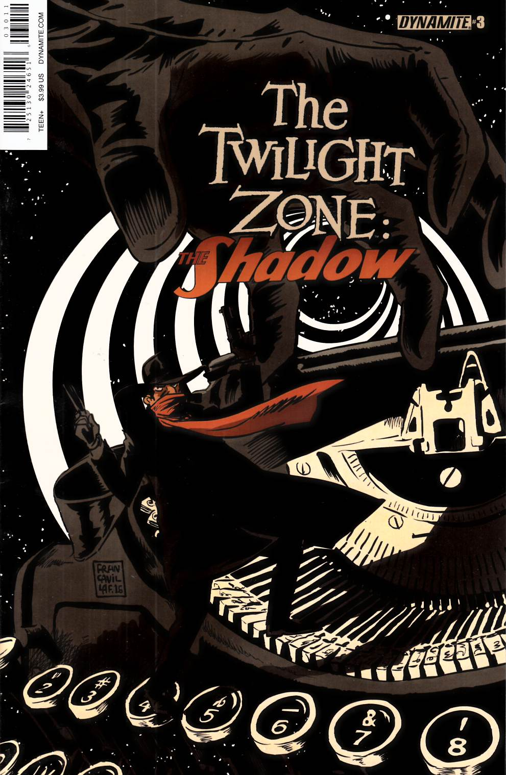 Twilight Zone Shadow #3 [Dynamite Comic]