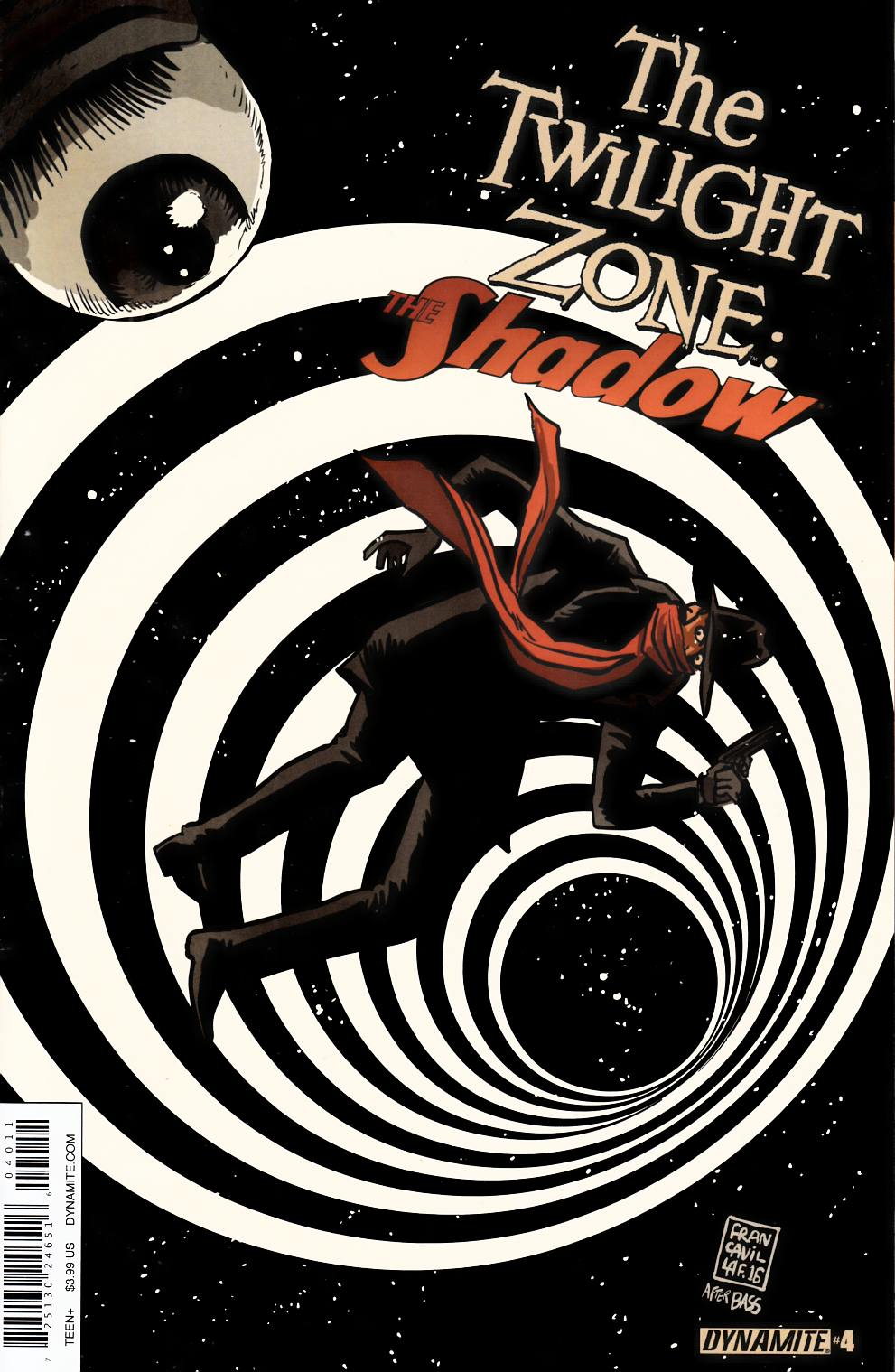 Twilight Zone Shadow #4 [Dynamite Comic]