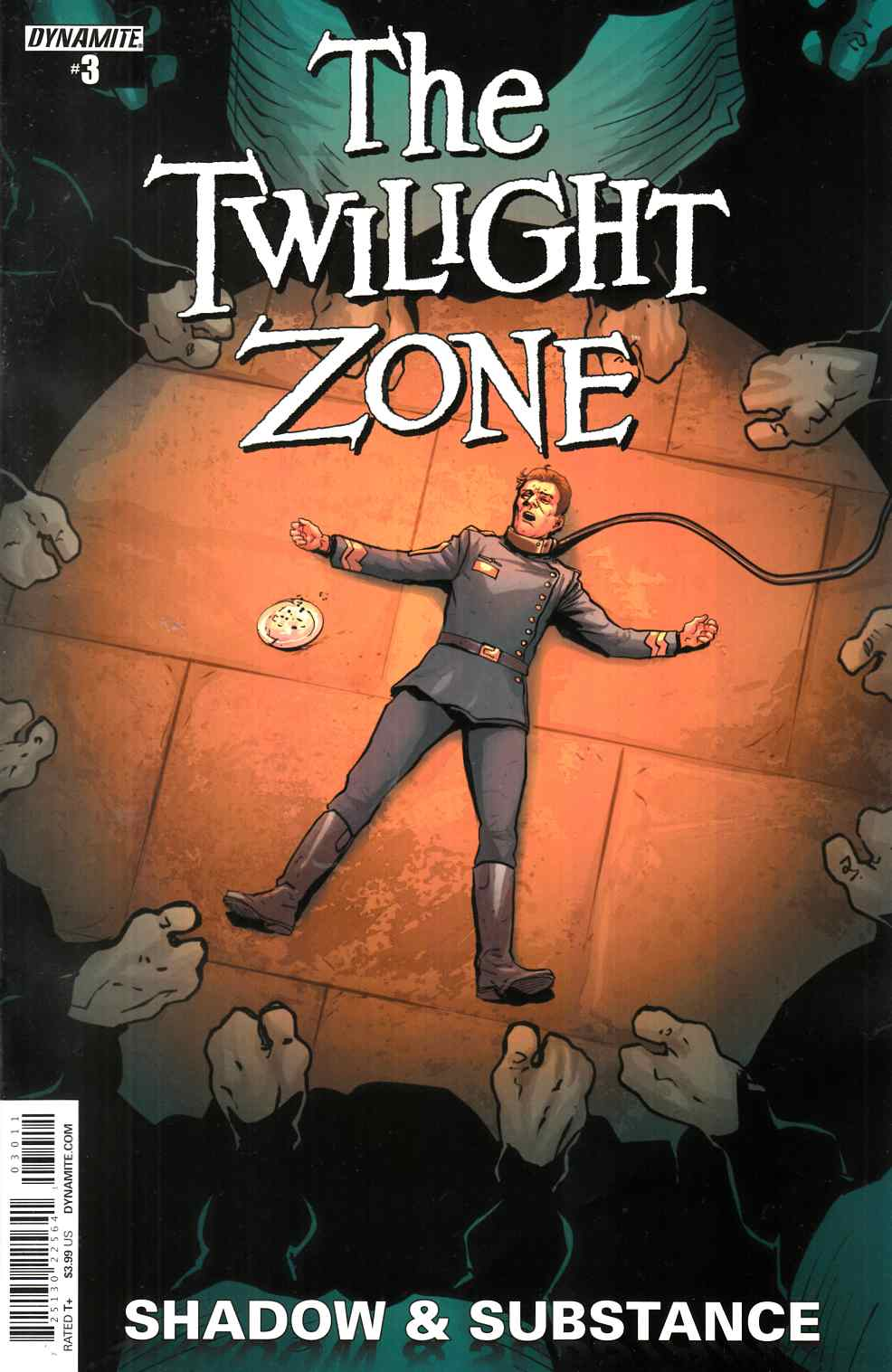 Twilight Zone S&S #3 Cover A- Vilanova [Dynamite Comic] THUMBNAIL