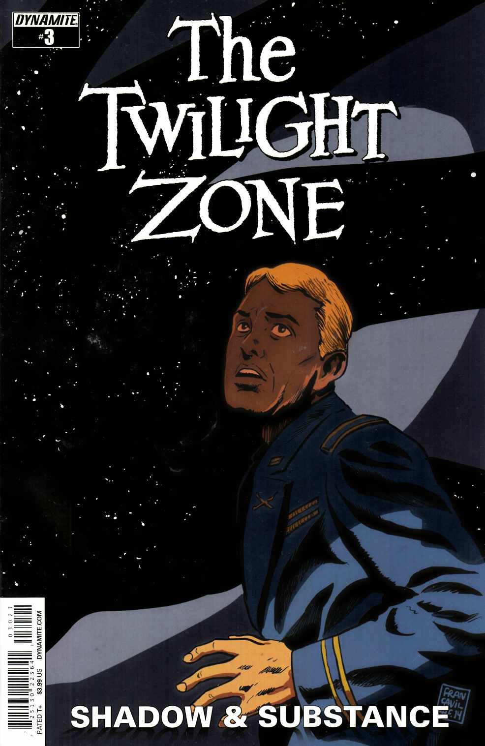 Twilight Zone S&S #3 Cover B- Francavilla [Dynamite Comic] THUMBNAIL