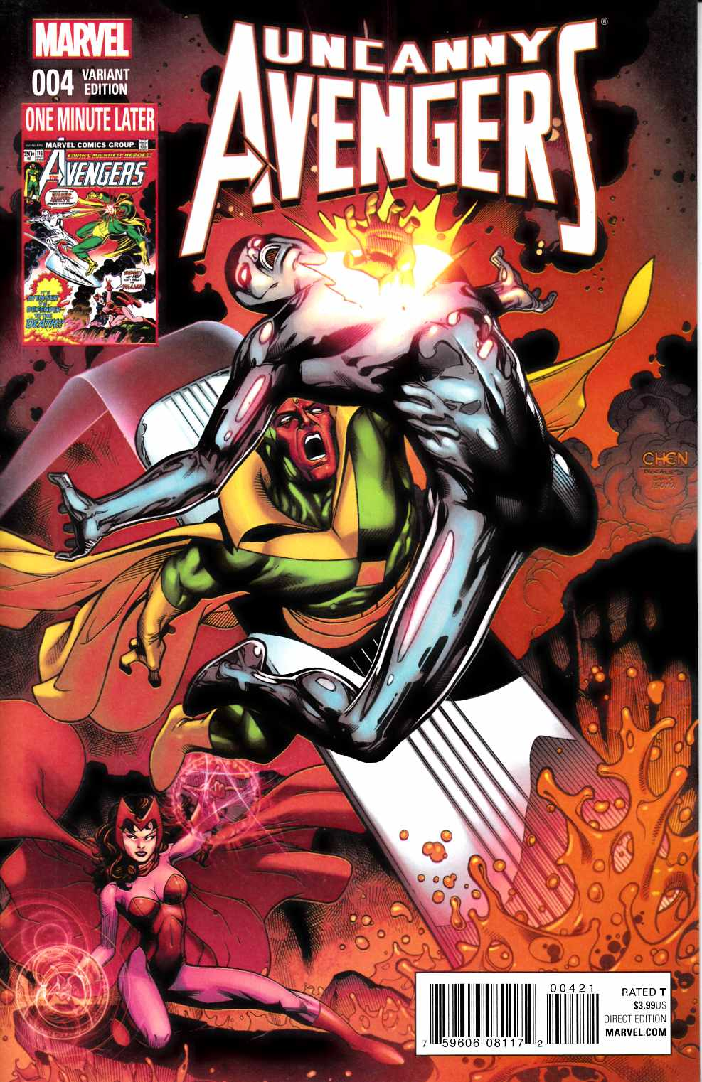 Avengers Variant Cover Marvel Comic View Enlarged Image
