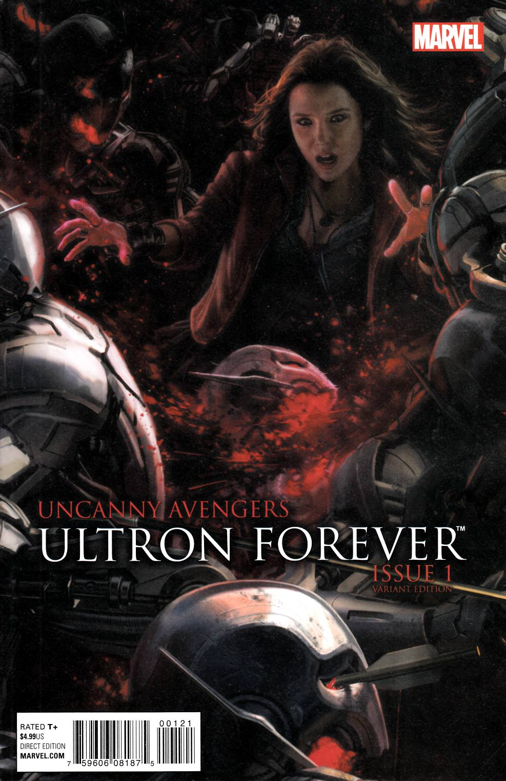 Uncanny Avengers Ultron Forever #1 AU Movie Connecting G Variant Cover [Marvel Comic] THUMBNAIL