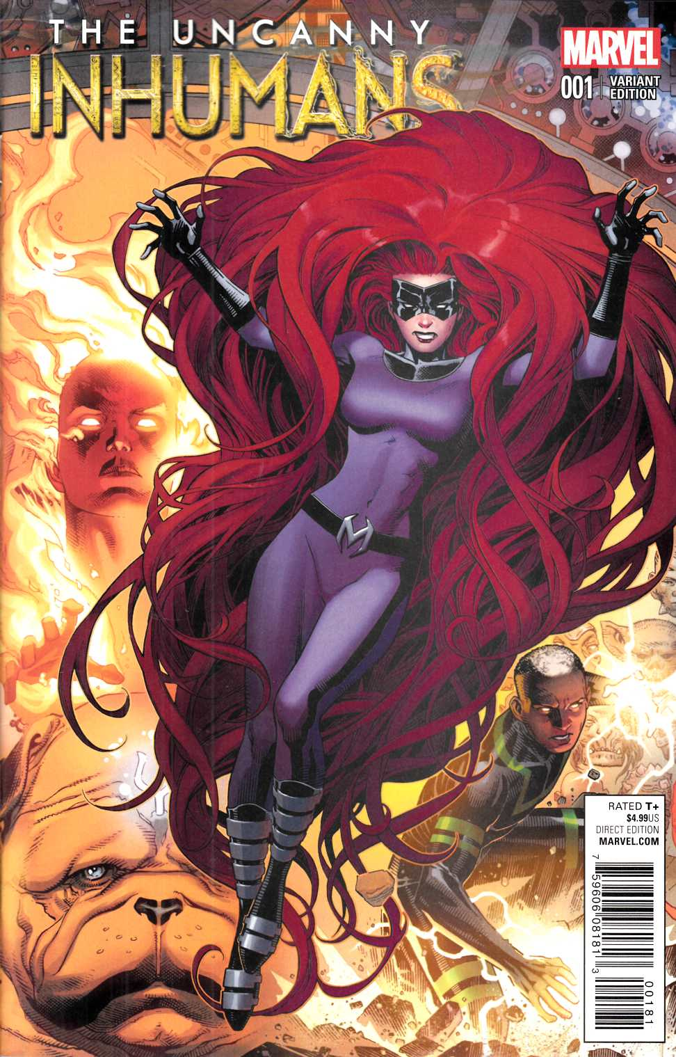Uncanny Inhumans #1 Cheung Connecting Cover B Variant [Marvel Comic] THUMBNAIL
