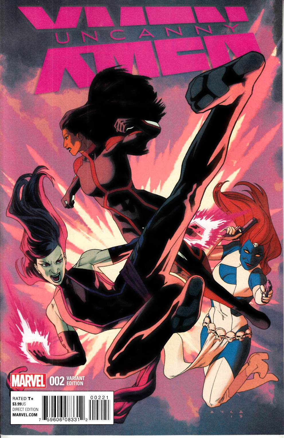 Uncanny X-Men #2 Anka Variant Cover [Marvel Comic] THUMBNAIL