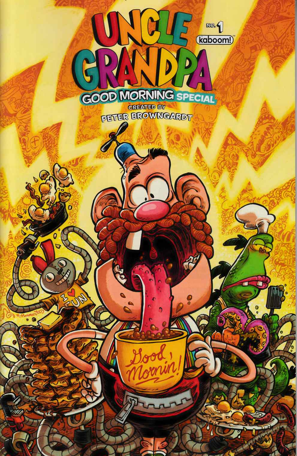 Uncle Grandpa Good Morning Special #1 [Boom Comic] THUMBNAIL