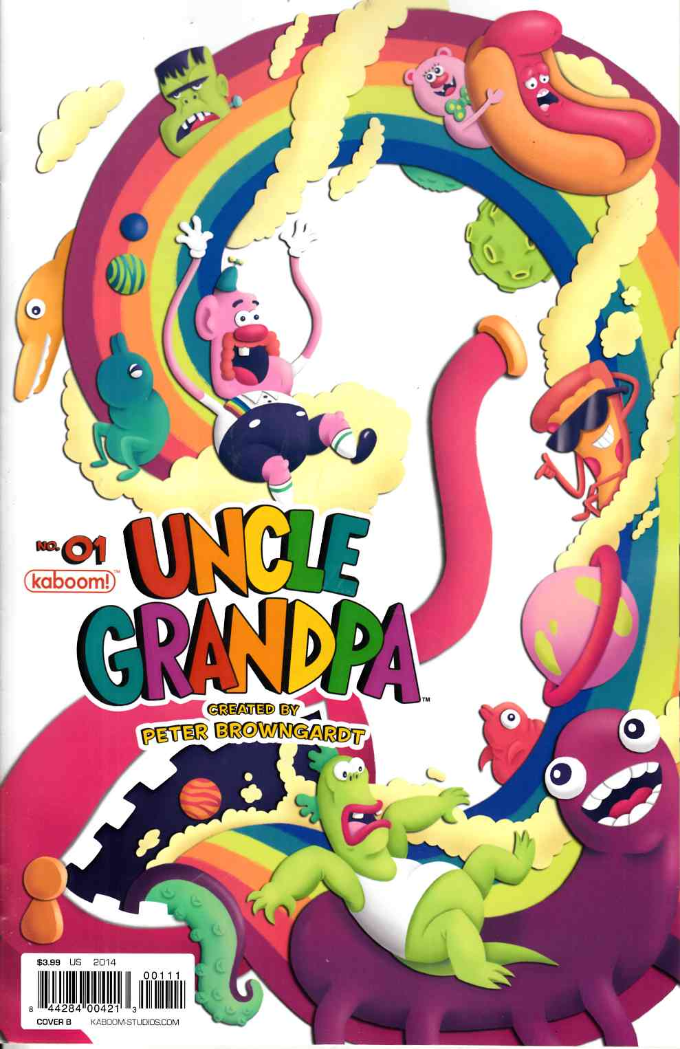 Uncle Grandpa #1 Cover A [Comic] THUMBNAIL
