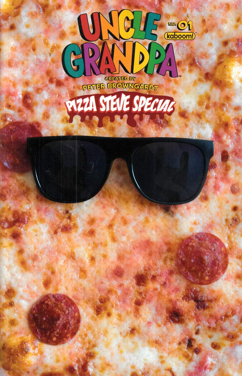 Uncle Grandpa Pizza Steve Special #1 [Boom Comic] THUMBNAIL