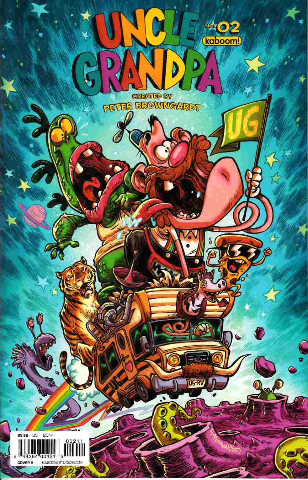 Uncle Grandpa #2 Cover A [Boom Comic] THUMBNAIL