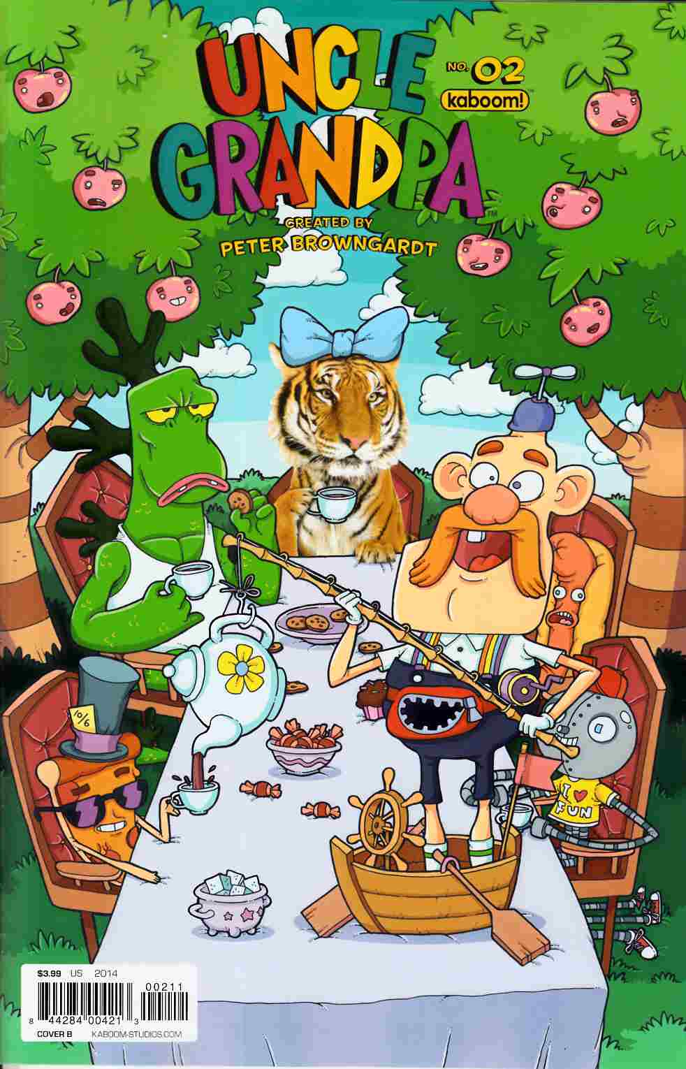 Uncle Grandpa #2 Cover B [Boom Comic] THUMBNAIL